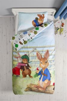 Peter Rabbit Duvet Cover and Pillowcase Set