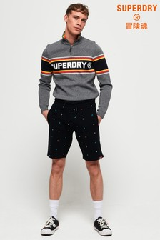 Superdry All Over Embroidered Shorts