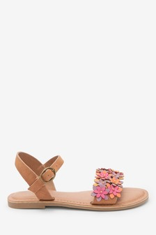 Flower Embellished Sandals (Older)