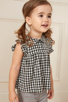 Tie Collar Blouse (3mths-7yrs)