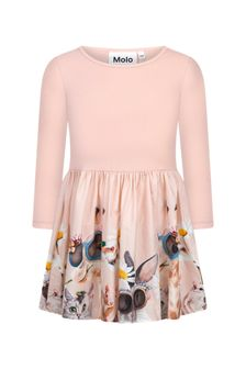 Molo Baby Girls Pink Cotton Dress