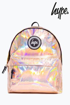 Hype. Rose Gold Backpack