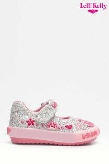 Lelli Kelly Silver Tiara Dolly Shoes