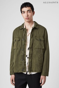 AllSaints Khaki Colrdige Jacket
