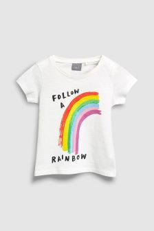 Rainbow T-Shirt (3mths-6yrs)