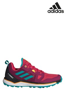 adidas Terrex Pink Agravic Trainers