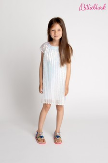 Billieblush Ivory Ombre Pleated Dress
