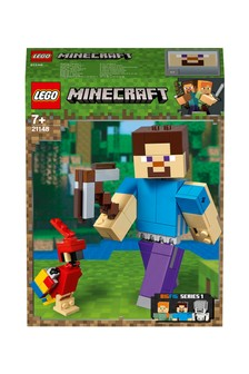 LEGO® Minecraft Steve BigFig With Parrot Figures 21148