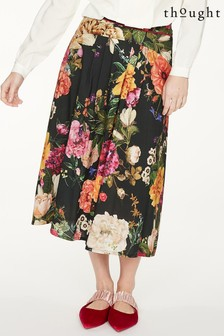 Thought Black Ada Skirt