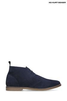 Kurt Geiger Blue Porter Boots