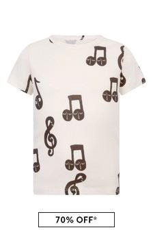 Kids Ivory Organic Cotton T-Shirt