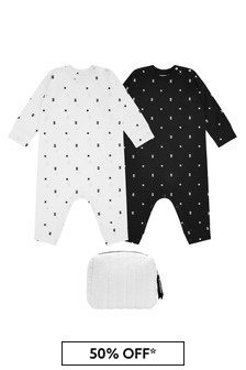 Baby Black Cotton Set