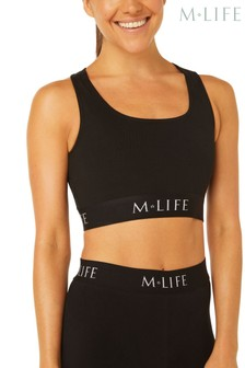 M.Life Yoga Medium Support Branded Sports Bra