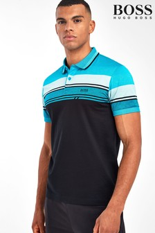 BOSS Black Paule 5 Stripe Polo