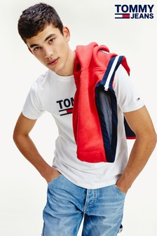Tommy Jeans Corporate T-Shirt mit Logo