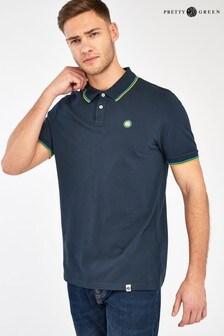 Pretty Green Barton Tipped Poloshirt