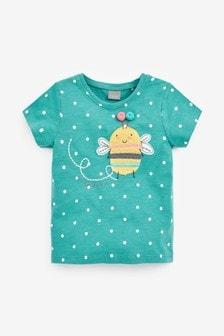 T-shirt à motif appliqué abeille (3 mois - 7 ans)