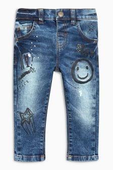 Graffiti Print Jeans (3mths-6yrs)