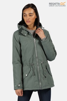 Regatta Green Brigid Waterproof Jacket