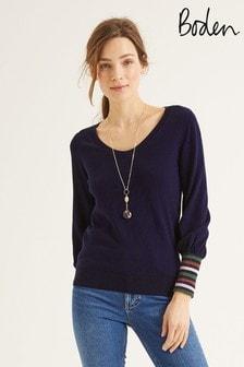 סוודר של Boden דגם Bernice בכחול