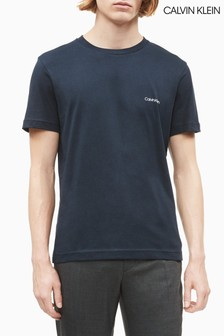 Calvin Klein® Blue Chest Logo T-Shirt