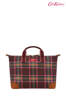 Cath Kidston® Purple Clarendon Check Travel Bag