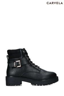 Carvela Comfort Black Tea Boots