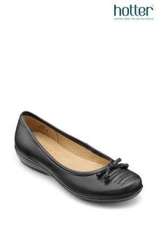 Hotter Emmy Slip-On Ballerina Shoes