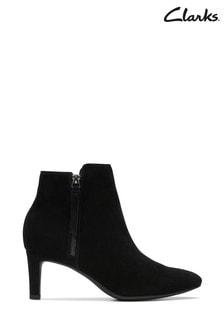 Clarks Black Calla Blossom Boot
