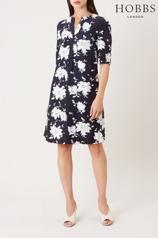 Hobbs Blue Faye Dress