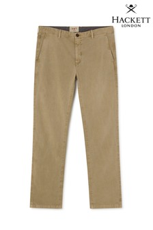 Hackett Tan Slim Fit HKT Chino Stretch