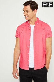 F&F Pink Oxford Shirt