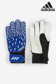 adidas Blue Kids Predator Goalkeeper Gloves