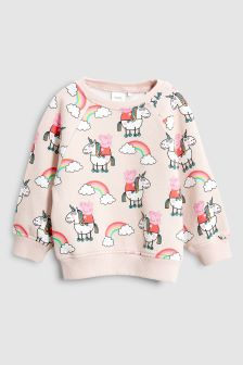 Peppa Pig™ All Over Print Crew (3mths-6yrs)