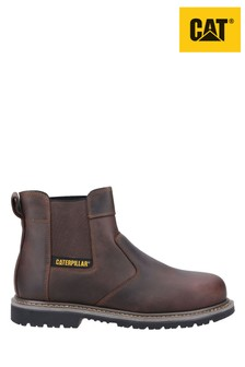 CAT Brown Powerplant Dealer Safety Boots