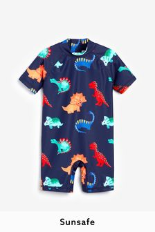 Dino Sunsafe Swimsuit (3mths-7yrs)