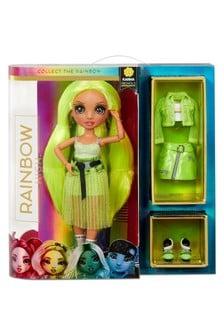 Rainbow Surprise Neon Fashion Doll