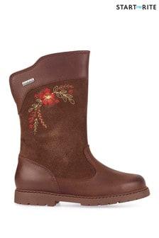 Start-Rite Brown Splash Shoes