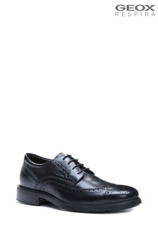 Geox Men's Dublin Black Shoes