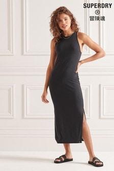 Superdry Strap Back Maxi Dress