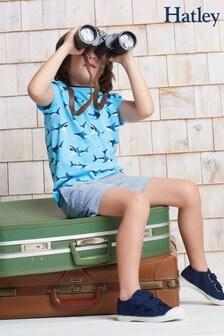 Hatley Blue Stripes Woven Shorts