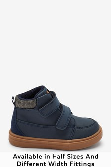 Warm Lined Touch Fastening Boots
