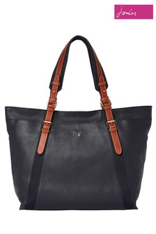 Joules Moreton Carriage Leather Grab Bag