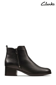Clarks Black Mila Sky Boots