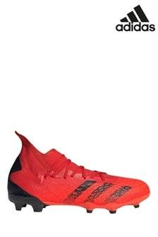 adidas Red Predator P3 Firm Ground Football Boots