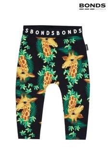 Bonds Navy Giraffe Leggings