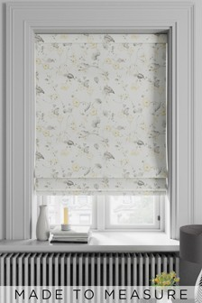Grange Lemon Gold Made To Measure Roman Blind