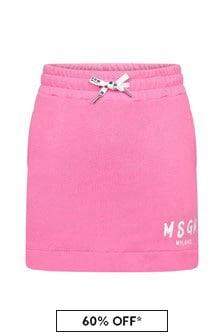 MSGM Girls Cotton Skirt