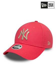 New Era Pink Metallic 9Forty Logo Neyyan Hat