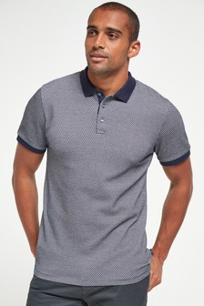 Regular Fit Texture Polo